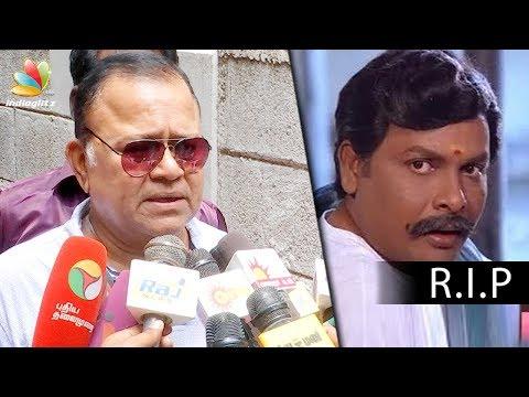 Nasser, Radha Ravi mourn Actor Shanmugasundaram's death | Funeral Video