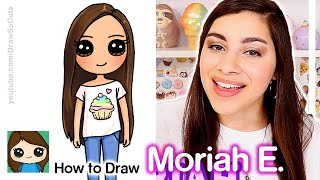 How to Draw Moriah Elizabeth | Famous YouTuber