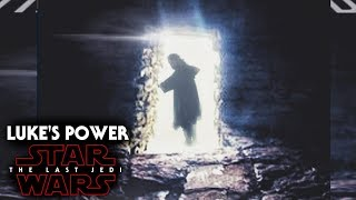 Star Wars The Last Jedi Luke's Force Power Revealed & Explained (SPOILERS)