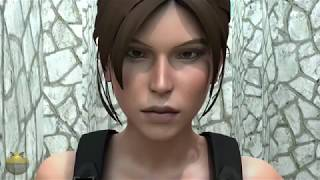 Pacman vs Lara Croft
