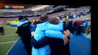 Manchester City vs QPR 2012 Aguero goal!