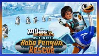 Miles From Tomorrowland - Galactech Robo Penguin Rescue - Disney Junior App