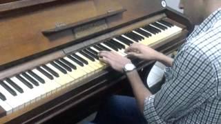 w bena m3ad - amr diab piano by : A. yassin