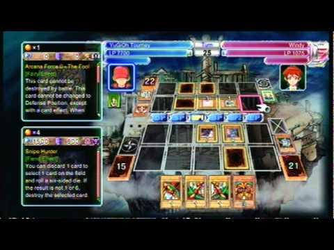 Exodia Win 1st ever recorded Yu Gi Oh 5D s xbox arcade