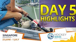 DAY 5 HIGHLIGHTS | 2018 Hockey Series Open Singapore