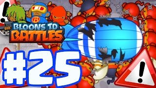 THE IMPOSSIBLE CUSTOM BATTLE CHALLENGE! | Bloons TD Battles Gameplay Part 25 (BTD Battles)