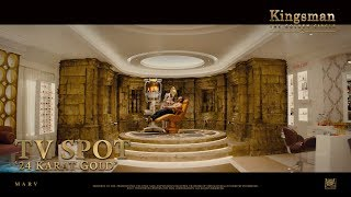 Kingsman: The Golden Circle ['24 Karat Gold' TV Spot in HD (1080p)]