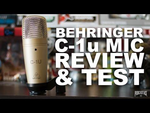 Behringer C-1u USB Microphone Review / Test