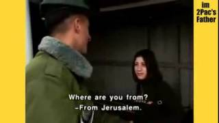Palestinian Girl Harassed by Zionists soldiers