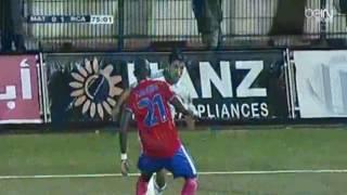 هدف مباراة ( المغرب التطواني 0-1 الرجاء الرياضي ) الدوري المغربي