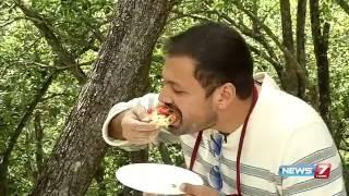 Sutralam Suvaikalam - Tawa Pizza recipe @ Kodaikanal Special 1/2 | News7 Tamil