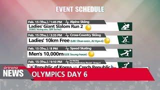 PyeongChang 2018: Highlights of Day 6