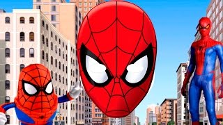 ABC Song Spiderman - Alphabet Song Spiderman - Family Song Spiderman Learning ABC