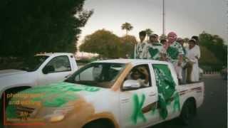 احتفال الشعب السعودي باليوم الوطني بالجبيل