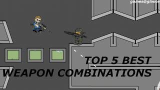 Top 5 Best weapon Combinations in Mini Militia