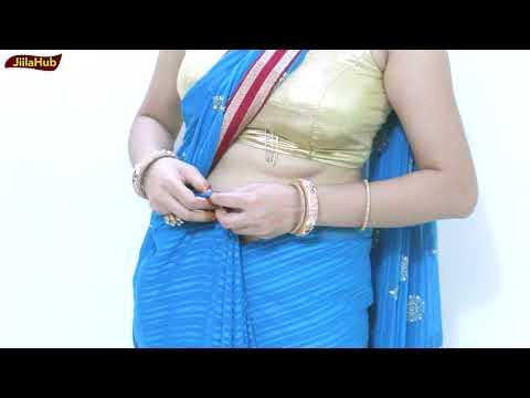Xxx Mp4 Aise Pehane Saree Khud Se Step By Step Sari Draping Wearing Video 3gp Sex