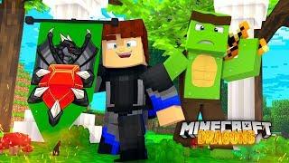 SCUBA STEVE OFFICIALLY JOINS THE MYTH NATION! - Minecraft Dragons