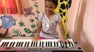 Khel Mandala from Natarang on keyboard by Radha
