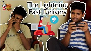 The Lightning Fast Delivery | The Naughty Guys