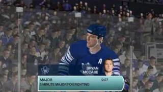 A couple of clips I decided to make in NHL 09  PC 