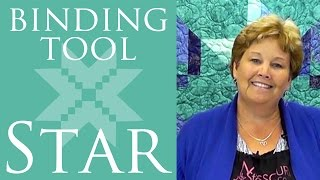 Make a Binding Tool Star Quilt with Jenny Doan of Missouri Star! (Video Tutorial)