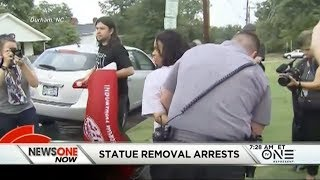 Arrests In Confederate Statue Removal In Durham, NC