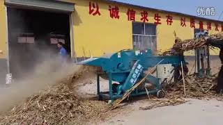 wheat rice husk grass silage machine, chaff cutter machine