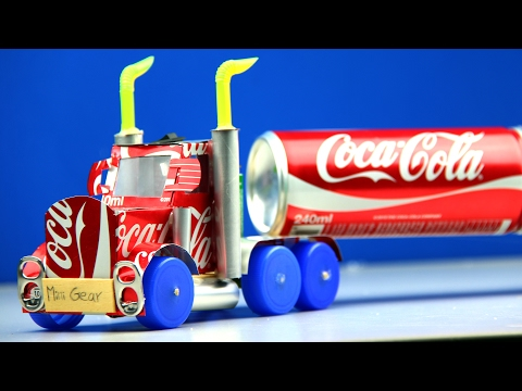 Xxx Mp4 How To Make A Coca Cola Truck With DC Motor Awesome Coca Cola Truck 3gp Sex