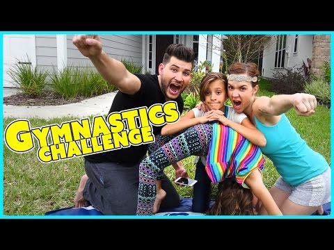 GYMNASTICS CHALLENGE | FAMILY EDITION | SMELLY BELLY TV