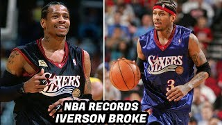 NBA Records ALLEN IVERSON Has Broken! THE ANSWER!