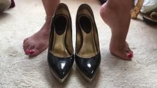 @SlutKelly Kelly-Louise Shoe Dangle and Pumping