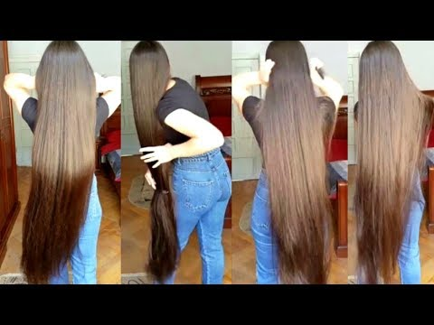 Xxx Mp4 Real Life Rapunzel Reveals Secret Behind Her Incredibly Long Hair 3gp Sex