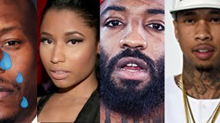 Nicki Minaj Sales, Tyrese crying about finances, tyga cardi b, tekashi on trippie sales, a$ap bari
