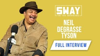 """Neil Degrasse Tyson says """"Shaq Should Not Work for NASA"""" + Talks Religion 