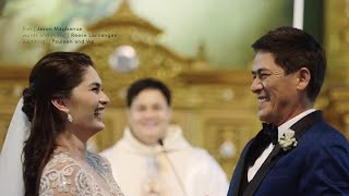 Vic Sotto and Pauleen Luna's Wedding