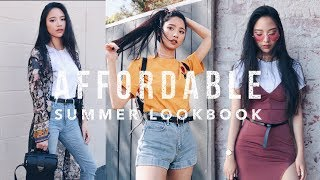 Affordable Summer Lookbook 2017 | LA 夏日平價五套穿搭 | Jessica Lin