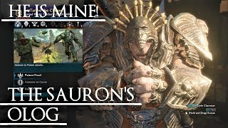 Shadow of War: Middle Earth™ Unique Orc Encounter & Quotes #38 THE SAURON'S CHOSEN OLOG!!
