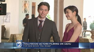Mystery-thriller 'Pali Road' wraps filming on Oahu