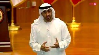 محمد بن زايد يلتقي مرشحي الكليات العسكرية للقوات المسلحة