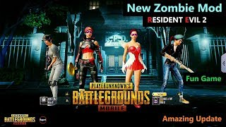 [Hindi] PUBG Mobile | New Zombie Mod RESIDENT EVIL 2 Update Gameplay
