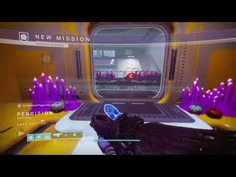 Haunted Sector Perdition Vex Sent by Rasputin on a Secret Mission Season of the Lost