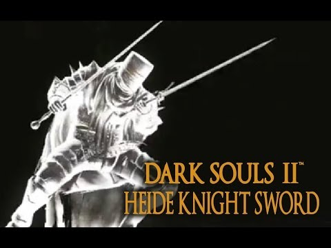 Dark Souls 2 Heide Knight Sword Tutorial (dual wielding w/ power stance)