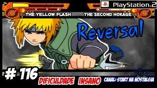 Naruto Shippuden Ultimate Ninja 5 PS2 # 116 BATALHA ENTRE HOKAGES / VANTAGE CPU / INSANO【4K 60FPS】