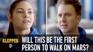 Will This Be the First Person to Walk on Mars? - Klepper