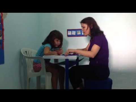 Demonstração de aula método ABA AUTISMO