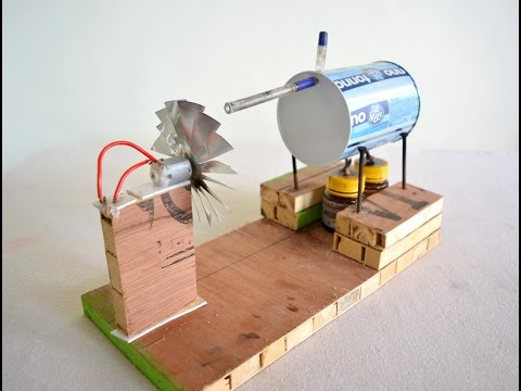 How to make Steam Power Generator a cool science project with easy way