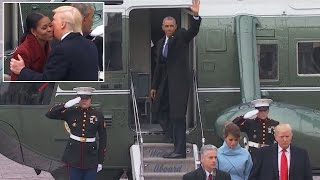 A Look At President Obama's Last Day In As Commander- In-Chief