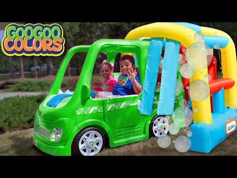 Xxx Mp4 Goo Goo Gaga Pretend Play With Car Wash Learn To Recognize Colors 3gp Sex