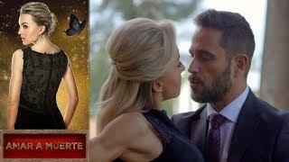 ¡Jacobo intenta besar a Lucía! | Amar a muerte - Televisa