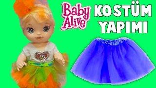Baby Alive Oyuncak Bebek 23 Nisan Çocuk Bayramı Kostüm Yapımı   Nasıl Yapılır   Oyuncak Butiğim